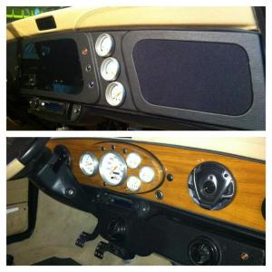 GO-AUTOWORKS Project Mini Custom Dash